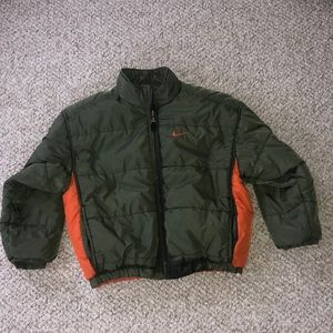 Nike Hooded Reversible Insulated Puffer Jacket